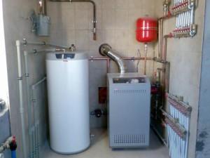 предлагаем водяное частное отопление